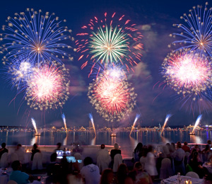 <font size='3'>FIREWORK DISPLAY FESTIVALS IN ANTIBES, CANNES, MONACO</font><br>JULY - AUGUST 2018