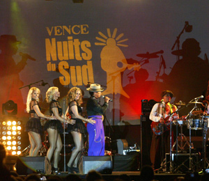 NUITS DU SUD IN VENCE<br>JULY 13 to august 03<br>2018